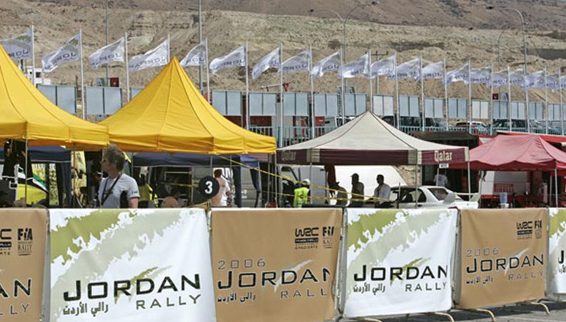 Jordan Rally signage
