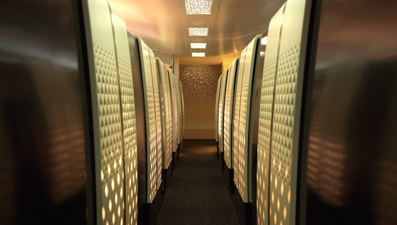 Etihad luxury cabin
